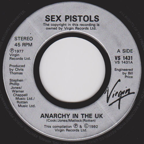 ANARCHY IN THE UK TAB ver 5 by Sex Pistols Ultimate