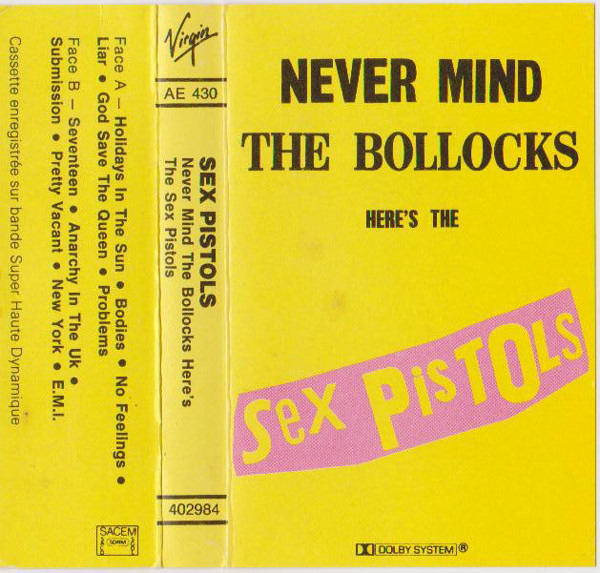 Remarkable, the Never mind the bollocks heres the sex pistols remarkable, rather
