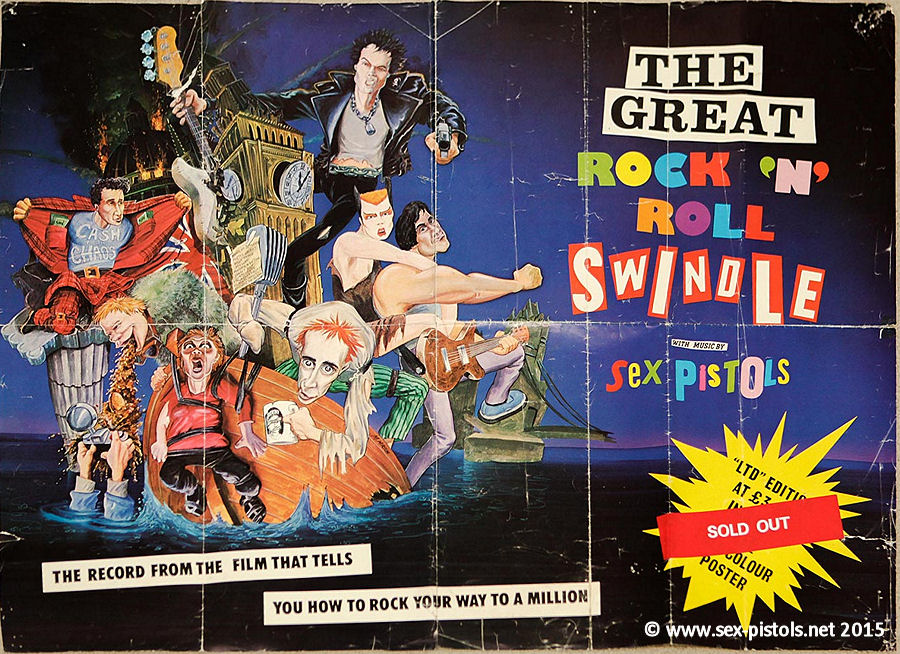 Sex pistols great rock roll swindle