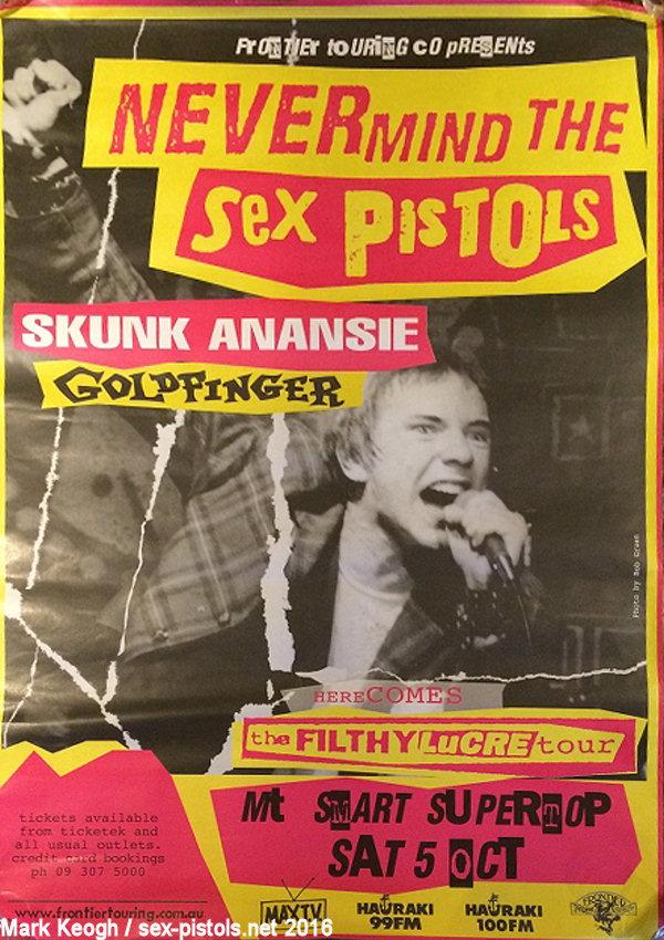 Sex Pistols Tour Dates
