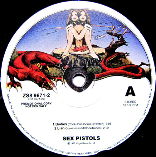 1977 Sex Pistols song or their first record label