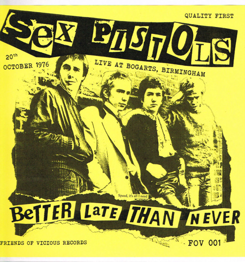 sex pistols i wanna be me