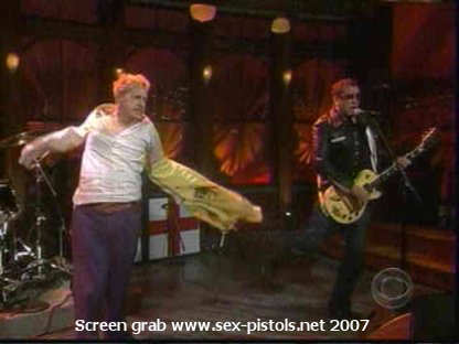 Craig ferguson sex pistols video