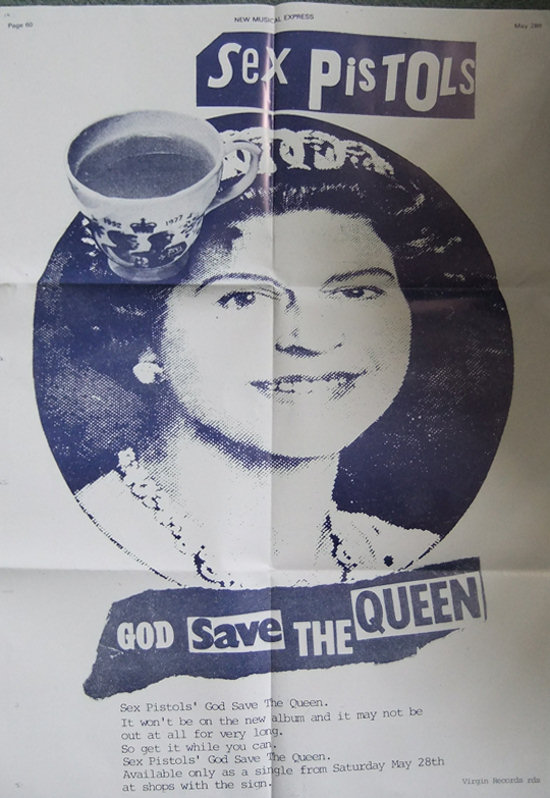 God save the queen sex pistols lyrics