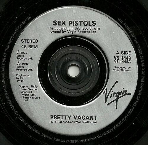 Sex pistols pretty vacent