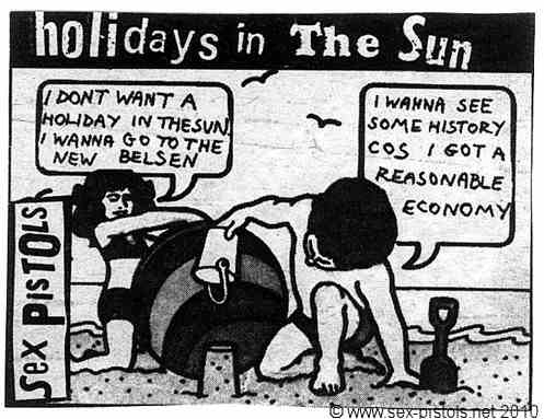Sex pistols holidays in the sun