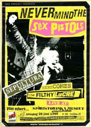 Sex pistols filthy lucre